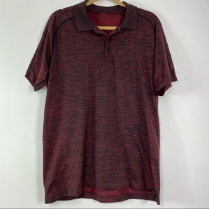 Lululemon red Collared Men's Shirt size XL
